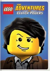 LEGO The Adventures of Clutch Powers DVD Ryan McPartlin NEW $7.26