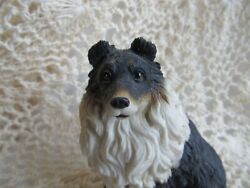 VINTAGE COLLIE DOG SMALL STATUE