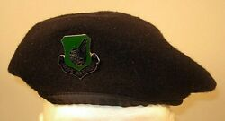 Us Air Force Security Police Pacific Air Forces Subdued Crest Badge Beret 7 1/8