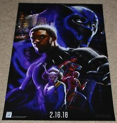 SDCC 2017 EXCLUSIVE MARVEL BLACK PANTHER POSTER 13quot; x 20