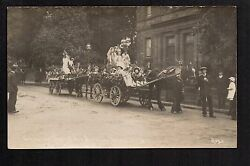 Penrith - Coronation Day Girland039s National School 1911 - Real Photographic P/card
