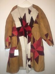 Isabell Marant Sheep Suede Double Sided Coat