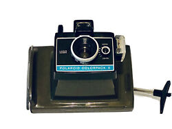 Green Vintage Polaroid Colorpack Ii Instant Film Camera Made In Usa Tested.