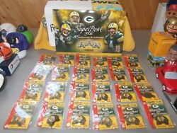 Green Bay Packers Pin Set Lot Super Bowl Xxxi 10th Anniversary Complete Sealed
