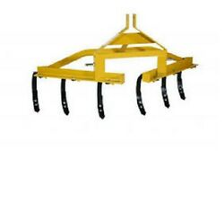 New Tarter Farm And Ranch 3-point One Row Cultivator - Yellow