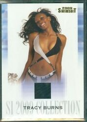Tracy Burns 2009 Sports Illustrated Collection Swimsuit Memorabilia Card Tb/m