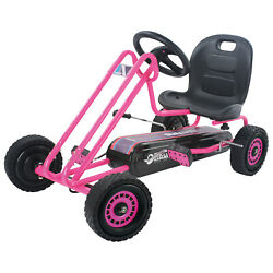 Toys Kids, Lightning Ride-on Pedal Go-kart,durable Features And Sporty Design