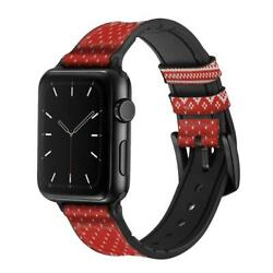 Ca0688 Winter Seamless Knitting Pattern Apple Watch Band Strap For Iwatch Series
