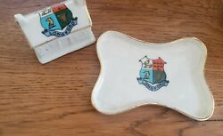 Long Ford Pottery Ceramic Tray With House