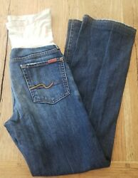 7 For All Mankind Jeans A Pea In The Pod Maternity Size 28 Guc