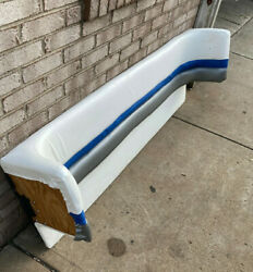1994 Chris Craft 218 Concept Cuddy Rear Of The Boat Sitting Back Support Panel