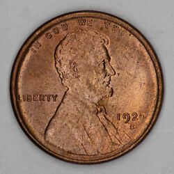 1920 S Lincoln Wheat Cent Penny 1c Choice Bu Brilliant Unc Rb / Rd Red 2518