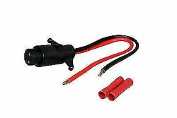 Pactrade Marine Boat Trolling Motor Female Side Connector Plug 2-wire 8 Gang 12v