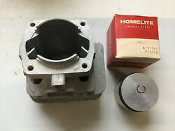 Oem Nos Homelite Cylinder And Piston A-93442 A-93443