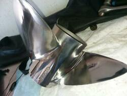 Propeller Stainless 25 Pitch 3 Blade Bass Boat