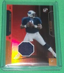 Steve Mcnair 2005 Topps Uncommon Game Used Jersey Card 49 /100