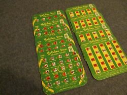 1960s Lot 8 Holiday Inn Travel Games Vintage 4 License + 4 Highway-very Good