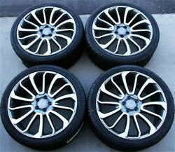 New4 22x10 5x120 Wheels And Tires Pkg Range Rover Sport Hse Supercharged Svr Sc