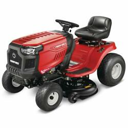 Troy Bilt Bronco 42 In. 19 Hp Briggs And Stratton Automatic Riding Lawn Tractor