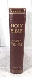 1945 Holy Bible Revised Standard Version By Nelson Hard Cover