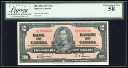 1937 Bank Of Canada 2 - Legacy Choice About New 58 - U/b1608634