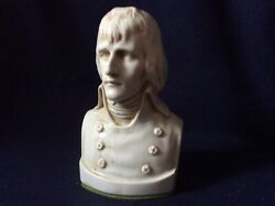 Antique Porcelain Bust Of Napoleon Bonaparte Marks And Signs