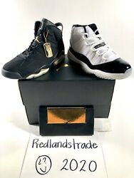New Jordan Defining Moments Package Dmp Pack 6 And 11 Menandrsquos Size 10 Never Worn