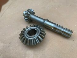 King Kutter Rotary Tiller Top Gearbox Gear And Pinion 902326/902325 19t And 13t