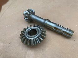 Phoenix Sicma Rotary Tiller Top Gearbox Gear 4728794 And 4728795 19t And 13t