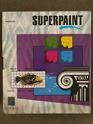 Superpaint Silicon Beach For Mac Software 1988 Complete 2 Floppies $18.99