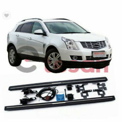 Deployable Running Board Fits For Cadillac Srx 2pcs 2010-2015 Side Step Nerf Bar