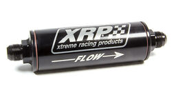Xrp-xtreme Racing Prod. In-line Oil Filter W/-12 Inlet And Outlet Wo/screen 7112an
