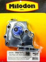 Milodon Billet Oil Pump Cover And Filter Boss - Wedge 21215