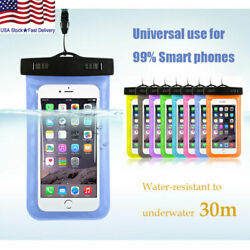 Waterproof Bag Underwater Pouch Dry Case Cover For Samsung LG Phone Universal $4.99