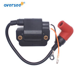 Ignition Coil 6e5-85570-10 With Spark Plug For 2 Strok 115-200hp Yamaha Outboard