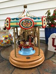 4 Horse Tobin Fraley Willitts Limited Edition American Carousel Waltz Music
