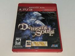 Demon's Souls Ps3 Video Game Greatest Hits Rare 2-disc Bundle W/ Soundtrack Cd