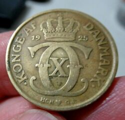 1925 Denmark Coin, 1 Krone Crown, More Auctions Today