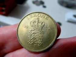 1958 Denmark Coin, 1 Krone Crown, More Auctions Today
