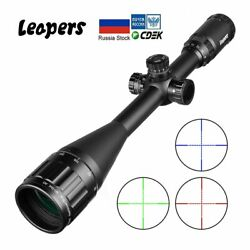 Leapers 6-24x50 Riflescope Tactical Optical Rifle Scope Red Green Blue Dot