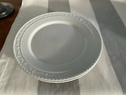 🇩🇪 Kpm Kurland One All White Dinner Plate 26 Cm 10 In. From Germany New