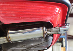 Mercedes 560sl Hb Sport Exhaust System Stainless Steel 60mm Amg Type