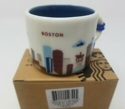 Starbucks You Are Here Boston Ornament New