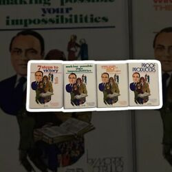 Morris Cerullo Lot Of Booklets And Cassettes