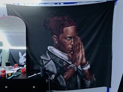 Large Tapestry of Young Thug