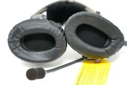 Bose X Aviation Headset With Single Plug Military Noise Canceling And Case.