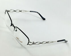 New TURA Mod.595 Black Women#x27;s Eyeglasses Frames 52 18 135 $41.40