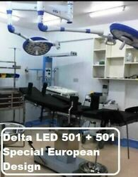 Dual Led Ot Light For Surgery Delta 501+501 Or Lamp Surgical And Examination Light