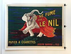 And039le Niland039 Elephant Original Vintage French Advertising Poster 1912 By Cappiello