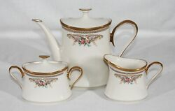 Discontinued Lenox China Dimension Collection Versailles Pattern Tea/coffee Set